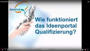 Wie funktioniert das Ideenportal Qualifizierung?